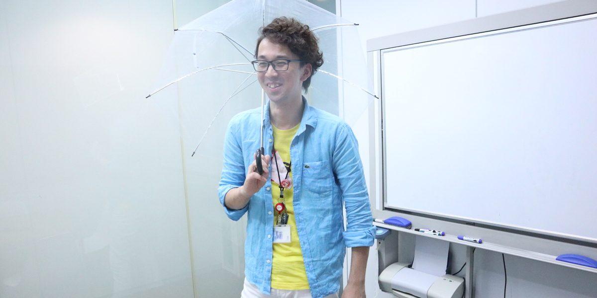 リモートでワークショップ!傘を使って文字を通信【KENMA CAMP】