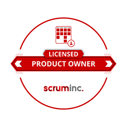 LICENSED PRODUCT OWNER scruminc.