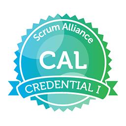 Scrum Alliance CAL CREDENTIAL I